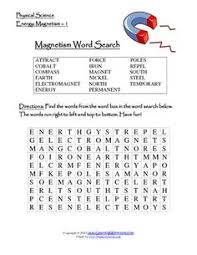 magnetic attraction printable science worksheets science