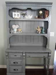 Shabby Chic Secretary Desk by European Paint Finishes April 2010