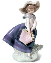 lladro collectible figurine pretty pickings collectible