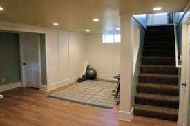 Laminate Flooring In A Basement Half A House U201d Gained In Basement Remodel Bluestem Construction