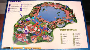 Disney World Epcot Map Epcot U0027s Mid Life Crisis