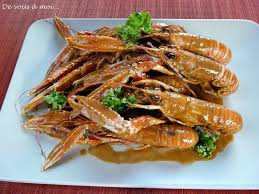 cuisiner les langoustines de vous à moi langoustines au kari gosse