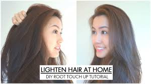 how to root touch up black to chestnut brown hair color loreal