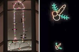 windows christmas lights around windows decor best 25 christmas
