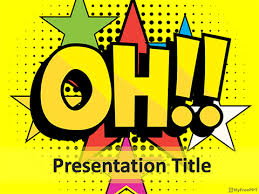 free comic expression powerpoint templates myfreeppt com