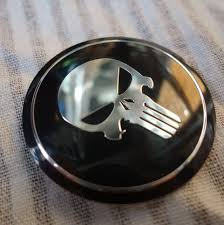 ford focus wheel caps aliexpress com buy cool punisher car steering tire wheel center