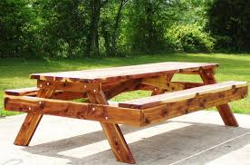 Free Wood Picnic Table Plans by Unique 8 Ft Wood Picnic Table Elegance 8 Ft Picnic Table Plans