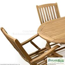 Teak Garden Table 8 Seater Teak Garden Table Set