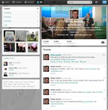 layout of twitter page to get new twitter profile page without waiting