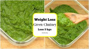 the best green chutney recipe for weight loss no oil no sugar