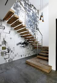 Industrial Stairs Design 2016 31 Staircase With Glass Wall On Stairs Walls Home In Sweet
