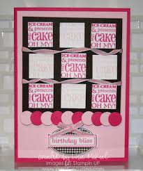lots of pink girly birthday card birthday bliss creative cucina