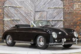 porsche classic speedster 1957 porsche 356 speedster re creation