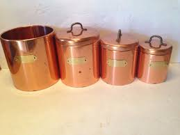 Metal Canisters Kitchen 100 Copper Kitchen Canisters Ideas Cream Ceramic Kitchen