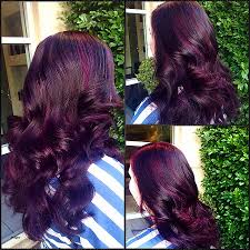 different types of purple hair colors different types of burgundy hair color fresh my