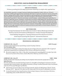 resume for sales and marketing professional manager resume 49 free word pdf documents