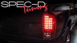 2003 dodge ram tail lights specdtuning installation video 2002 2005 dodge ram led tail lights