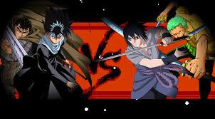 vs sasuke guts hiei vs sasuke zoro battles comic vine