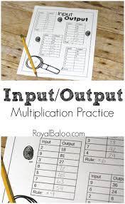 best 25 multiplication practice ideas on pinterest