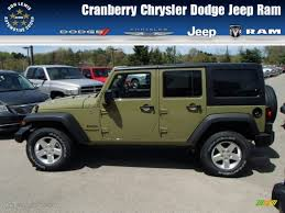 gecko green jeep for sale 2013 commando green jeep wrangler unlimited sport 4x4 80592893