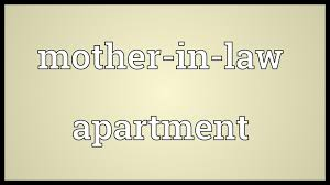 mother in law apartment meaning youtube