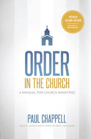 order in the church revised second edition striving together