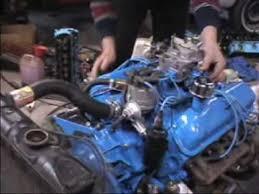 1965 mustang 289 horsepower firing ford 289 65 2 barrel mustang engine