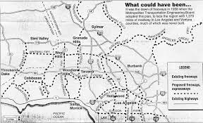 Simi Valley Map California Highways Www Cahighways Org Southern California