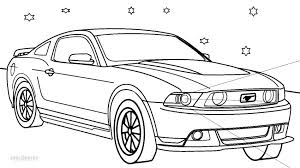 Coloring Page Printable Mustang Coloring Pages For Kids Cool2bkids by Coloring Page