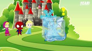 ndb kids tv super hero kids in real life masha and spider man vs