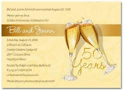 50th wedding invitations wording for 50th wedding anniversary invitations the wedding