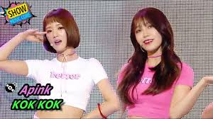 comeback stage apink kok kok 에이핑크 콕콕 show music core