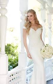 the shoulder wedding dresses wedding dress gallery martina liana