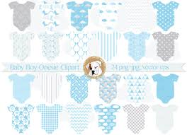 baby boy blue onesies clipart baby shower invitation baby shower