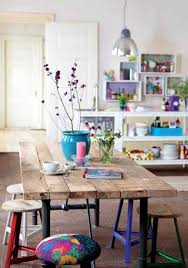 interior design with reclaimed wood and rustic decor in country