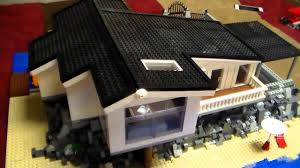 Seaside Home Interiors by Lego Seaside House Moc Youtube