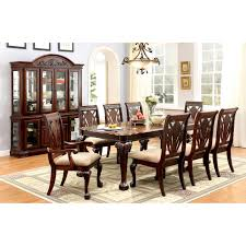 9 Piece Formal Dining Room Sets by Furniture Of America Harsburough Classic 9 Piece Dining Table Set