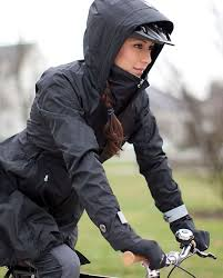 raincoat for bike riders a little rain never hurt waterproof fitness gear to take you
