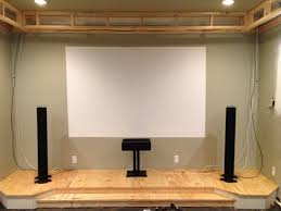 home theater stage design guide to building a home theater stage