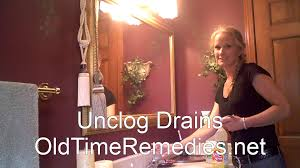 old time home remedies unclog drains keep sinks clear and