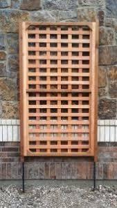 Custom Trellis Panels Rectangular Garden Trellis Panel Outdoor Wooden Screen Privacy
