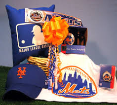 nyc gift baskets new york mets baseball gift basket