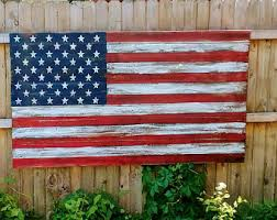 american flag wood american flag rustic american flag