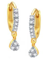 latkan earrings mukawil american diamond esquisite bali latkan earrings buy
