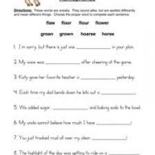 homophones worksheets page 2 of 2 have fun teaching