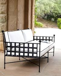 wrought iron patio ottoman wrought iron patio sofa protectivefloorcoatings club