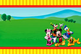 mickey mouse clubhouse birthday invitations mickey mouse clubhouse