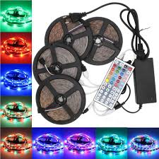 supli led strip set 20m waterproof 1200leds 2835 rgb strip light