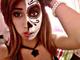 half face makeup for halloween halloween makeup mexican sugar