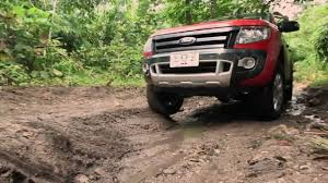 all ford ranger goes road